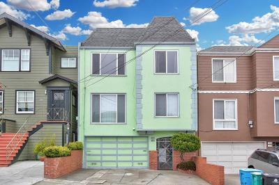 San Francisco Multi Family Home For Sale: 1323-1325 35th Avenue