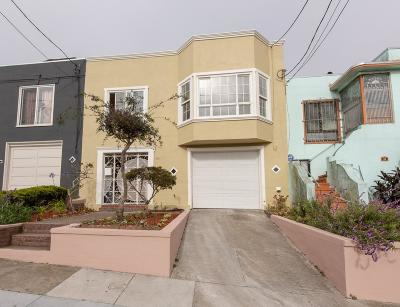 San Francisco Single Family Home For Sale: 30 Beverly Street
