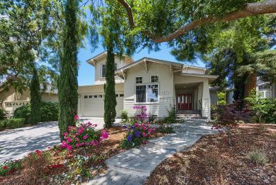 Palo Alto Single Family Home For Sale: 2947 Clara Drive
