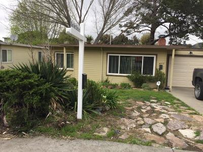 El Sobrante Single Family Home For Sale: 4653 Canyon Road