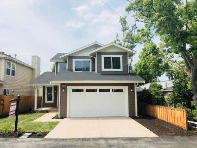 Martinez Single Family Home For Sale: 1035 Sierra Ave