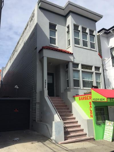 San Francisco Multi Family Home For Sale: 3432 20th Street