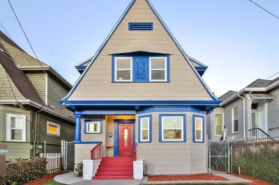 Single Family Home For Sale: 3302 Adeline Street