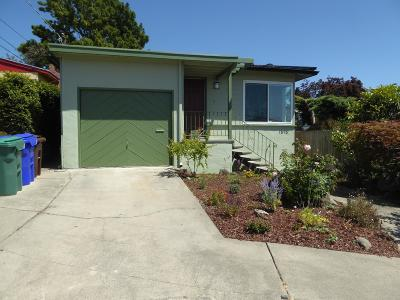 richmond Single Family Home For Sale: 1815 Olive Avenue