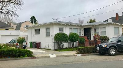 Oakland CA Single Family Home For Sale: $1,599,000