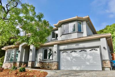 Cupertino Single Family Home For Sale: 10721 Santa Lucia Road