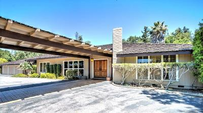 Los Gatos Single Family Home For Sale: 170 Twin Oaks Drive