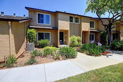 San Jose Condo/Townhouse For Sale: 3458 Bathgate Lane