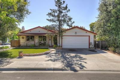 Sunnyvale Single Family Home For Sale: 1737 Wright Avenue