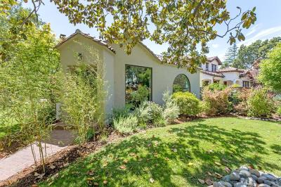 Palo Alto Single Family Home For Sale: 2380 Tasso Street