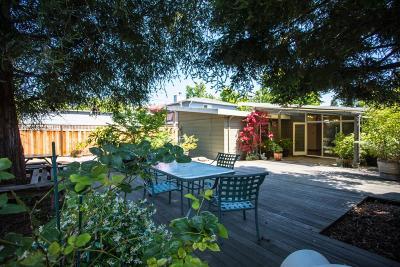 Palo Alto Single Family Home For Sale: 3212 Waverley Street