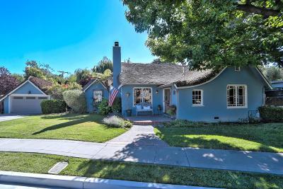 San Jose Single Family Home For Sale: 1624 Juanita Avenue