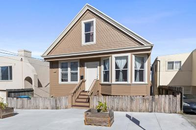 San Francisco Single Family Home For Sale: 279 Howth Street