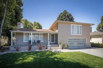 San Mateo Single Family Home For Sale: 21 De Sabla Road