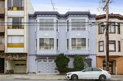 San Francisco Condo/Townhouse For Sale: 547 27th Avenue