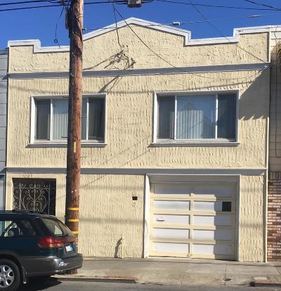 San Francisco Single Family Home For Sale: 201 Felton Street