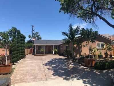 Milpitas Single Family Home Pending Show For Backups: 1513 Adams Avenue