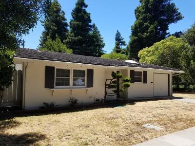 Burlingame Rental For Rent: 1533 California Drive