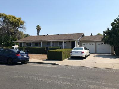 Santa Clara Multi Family Home For Sale: 905-907 Burbank Drive