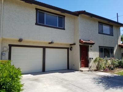 Santa Clara Condo/Townhouse For Sale: 1298 Warburton Avenue