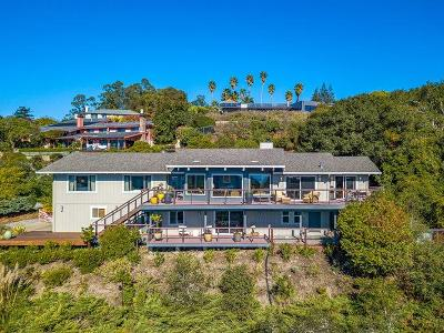 Santa Cruz Single Family Home For Sale: 78 Pasatiempo Drive