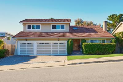 San Mateo Single Family Home For Sale: 1541 Crestwood Drive