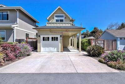 Half Moon Bay Single Family Home For Sale: 611 Myrtle Street