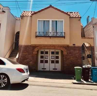 San Francisco Single Family Home For Sale: 73 Norton Street