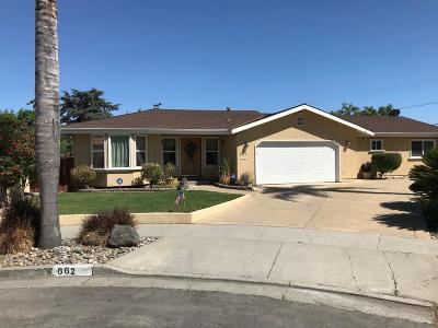 San Jose Single Family Home For Sale: 662 Apache Court