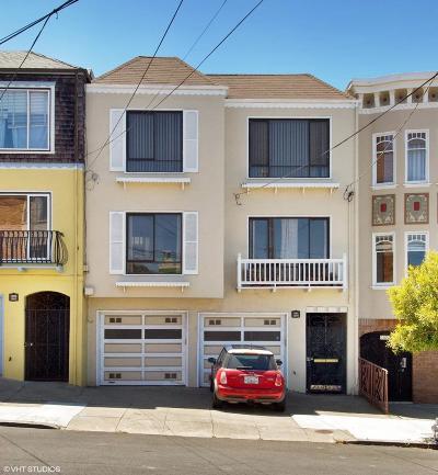 San Francisco Multi Family Home For Sale: 1379 27th Avenue