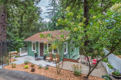 Los Gatos Single Family Home For Sale: 21424 Laurel Drive