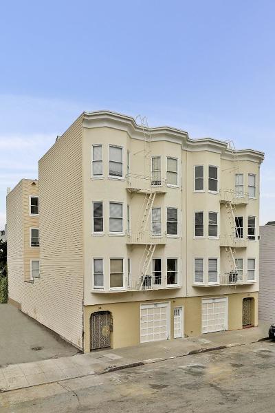 San Francisco Multi Family Home Pending Show For Backups: 626- 628 Capp Street