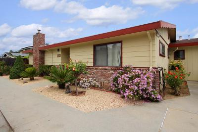 Santa Cruz Single Family Home For Sale: 2030 Kinsley Street #E