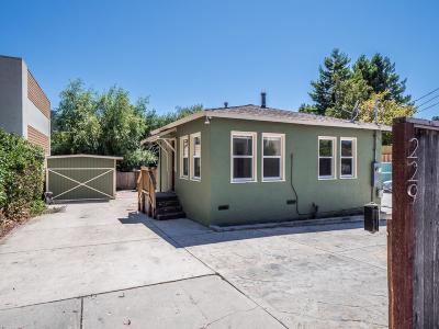 Santa Cruz Single Family Home Pending Show For Backups: 229 Fern Street
