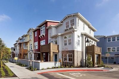 Mountain View Condo/Townhouse For Sale: 1921 Stella Street
