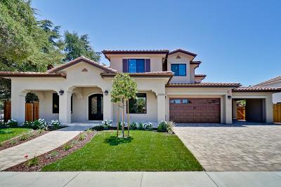 Cupertino Single Family Home For Sale: 20696 Greenleaf Drive