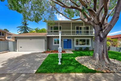 Sunnyvale Single Family Home For Sale: 1053 Lily Avenue