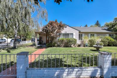 Los Gatos Single Family Home For Sale: 324 Los Gatos Boulevard