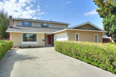 Milpitas Single Family Home For Sale: 864 Kizer Street