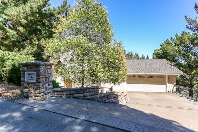Orinda Single Family Home For Sale: 72 Via Floreado
