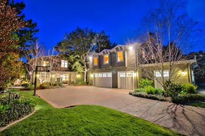 Los Gatos Single Family Home For Sale: 16085 Shannon Road