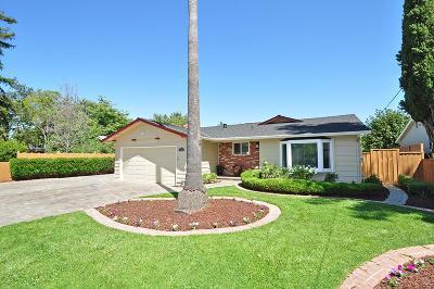 Campbell Single Family Home For Sale: 1589 W Hacienda Avenue