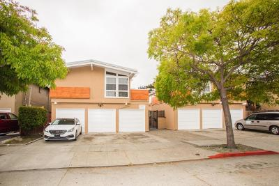 San Mateo Multi Family Home For Sale: 735 & 739 N Amphlett Boulevard
