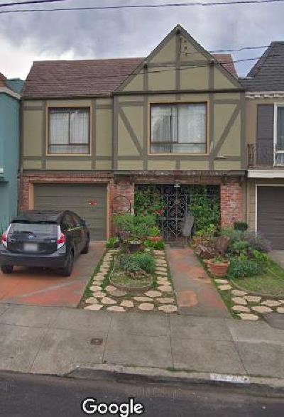 San Francisco Single Family Home For Sale: 1877 37th Avenue