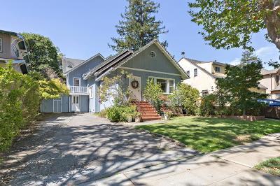 Burlingame Single Family Home For Sale: 1425 Bernal Avenue