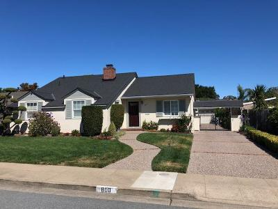 Millbrae Single Family Home For Sale: 800 Murchison Drive