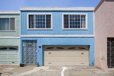 San Francisco Single Family Home For Sale: 738 Banks Street