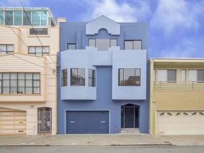 San Francisco Multi Family Home For Sale: 463-465 35th Avenue