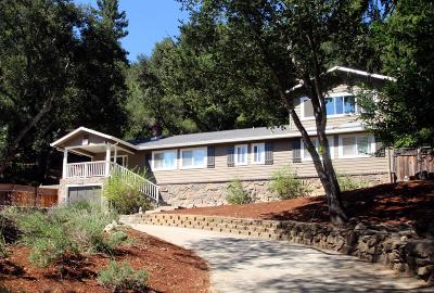 Los Gatos Single Family Home For Sale: 21390 Aldercroft Heights