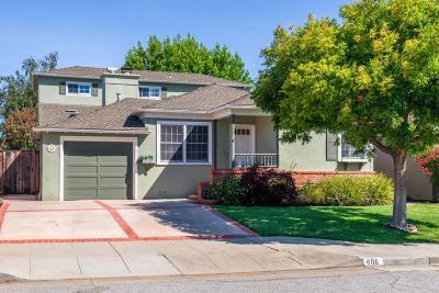 San Mateo Single Family Home For Sale: 406 27th Avenue